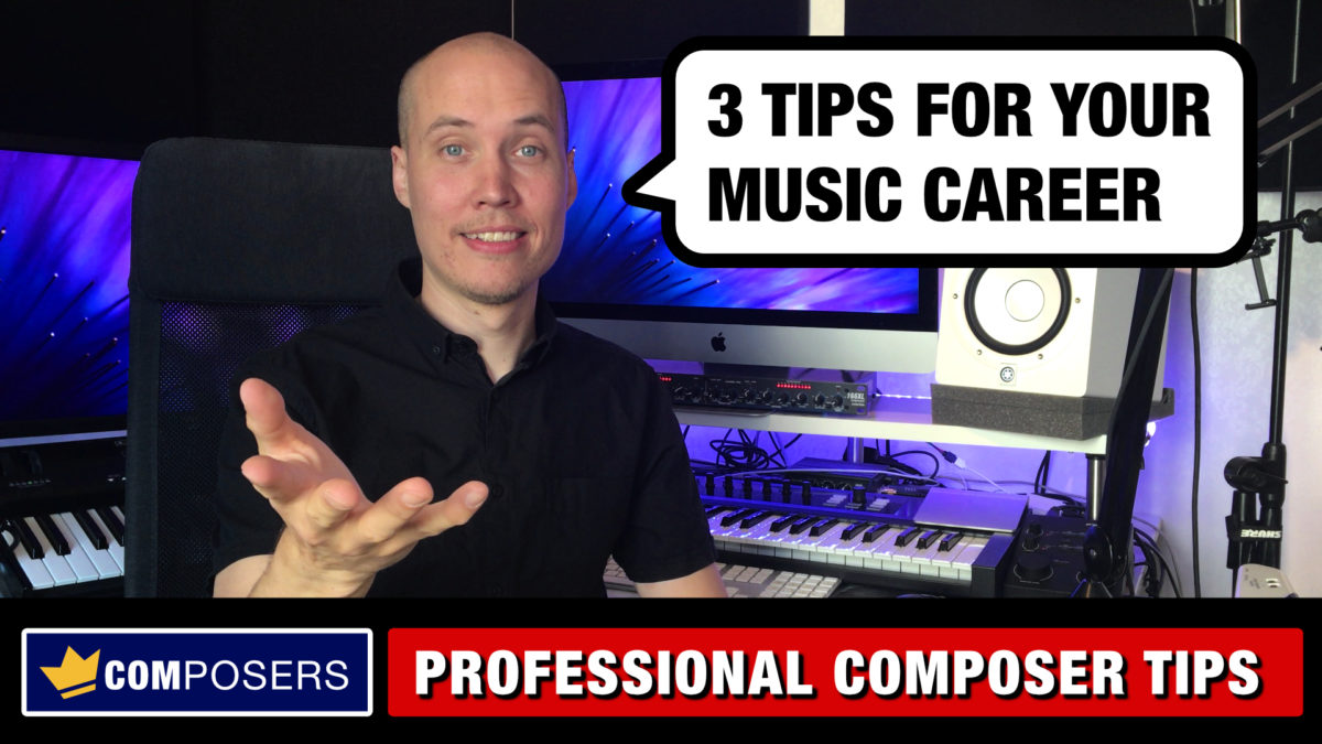 How to Become a Professional Composer (3 Lessons)