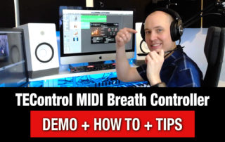 How to use a MIDI Breath Controller (TEControl Tutorial)