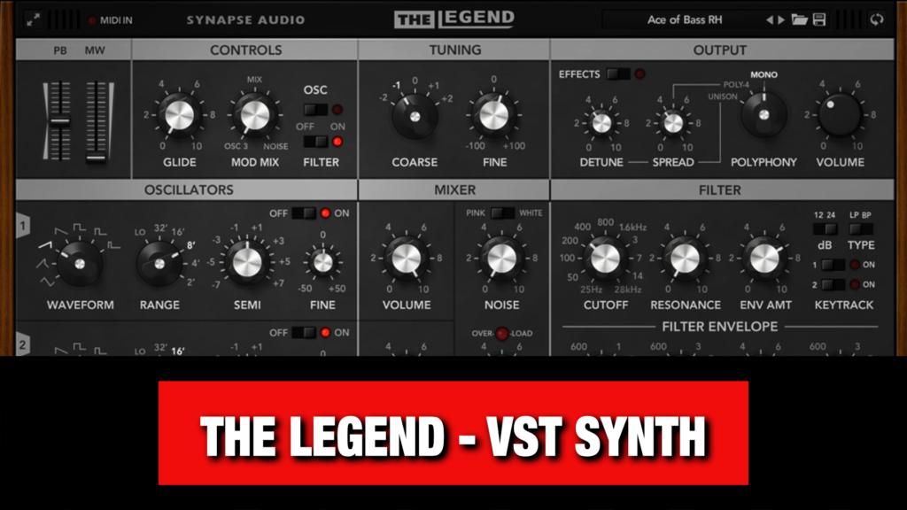 Analog VST Synth - The Legend
