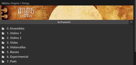 Afflatus Strings (sounds)