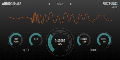Audiodamage FuzzPlus 3 (Vintage Fuzz)