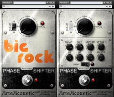 Phaser VST Plugin - Big Rock