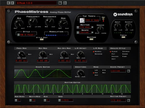Phaser VST Plugin - PhaseMistress