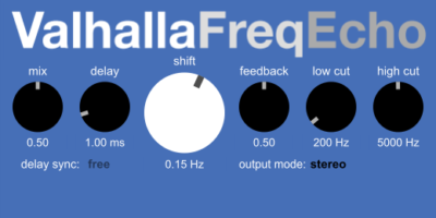 Valhalla Freq Echo (Frequency Shifter)