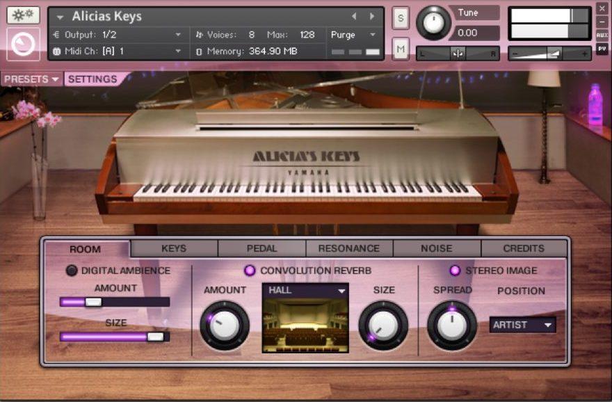 Alicia's Keys Piano VST