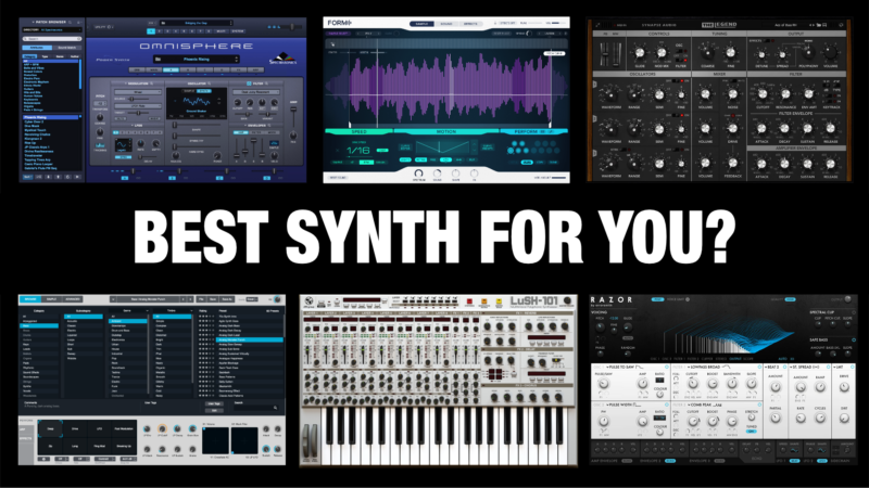 Best Synth VST Plugins