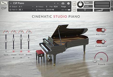 Cinematic Studio Piano Piano VST