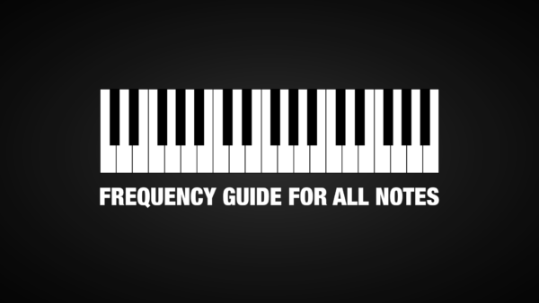 Frequency Chart for Notes