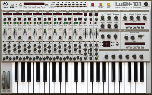 LUSH-101 Synth VST Plugin
