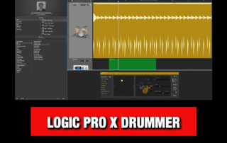 Logic Pro X Drummer