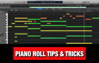 Logic Pro X Piano Roll Tips & Tricks