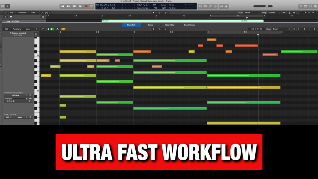 Logic Pro X - Ultra Fast Workflow