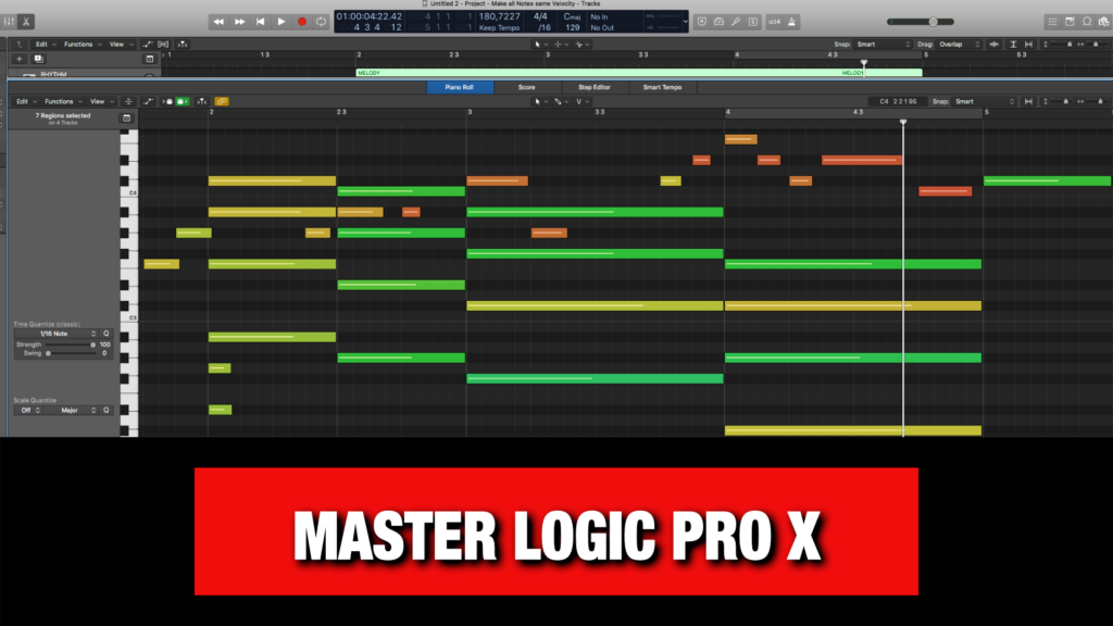 Logic Pro X Tutorials & Tips