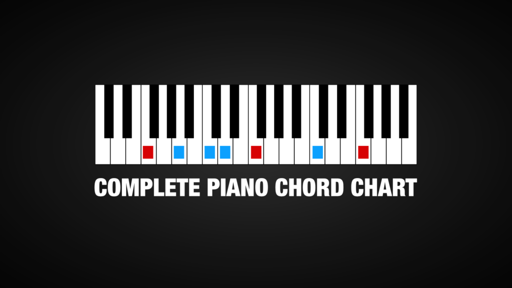 Piano Chord Chart (Complete Guide)