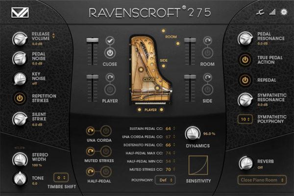 Ravenscroft 275 Piano VST