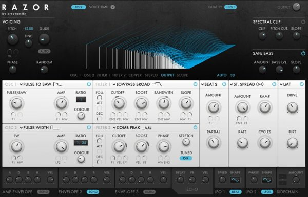 Razor Synth VST Plugin