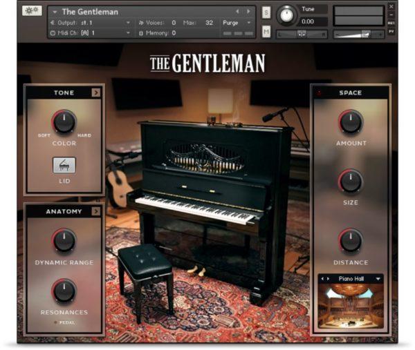The Gentleman Piano VST