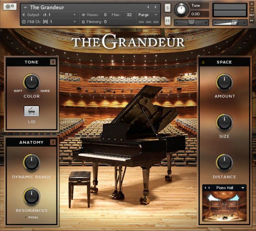 The Grandeur Piano VST