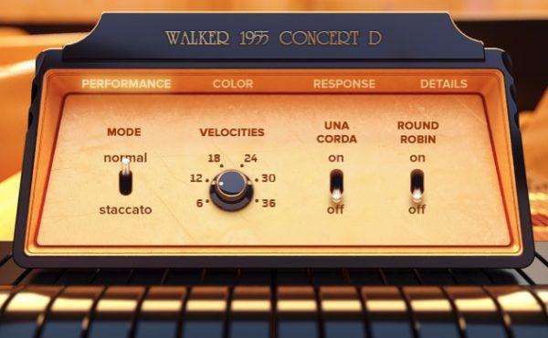 Walker 1955 Concert D Piano VST