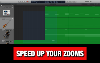 Zoom Shortcuts in Logic Pro X