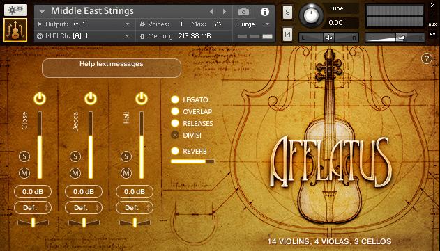 Afflatus Strings