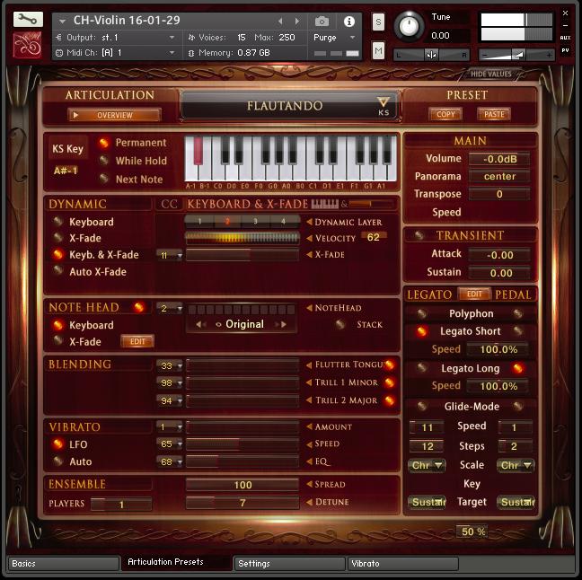 CH Ensemble Strings