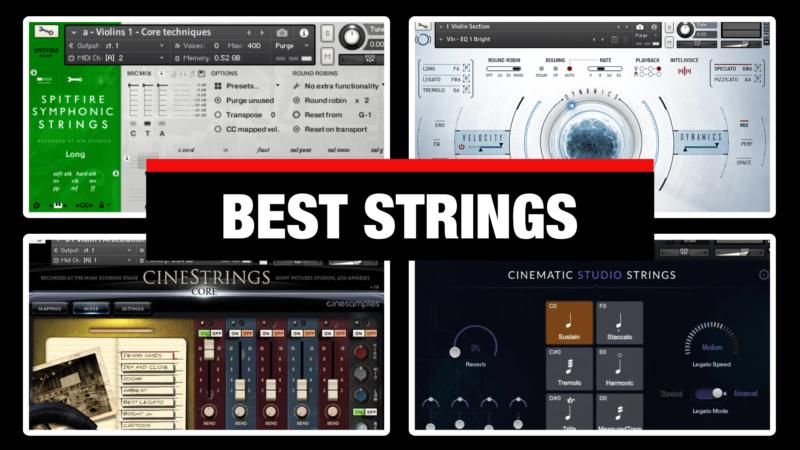 Best Orchestral Strings VST Libraries