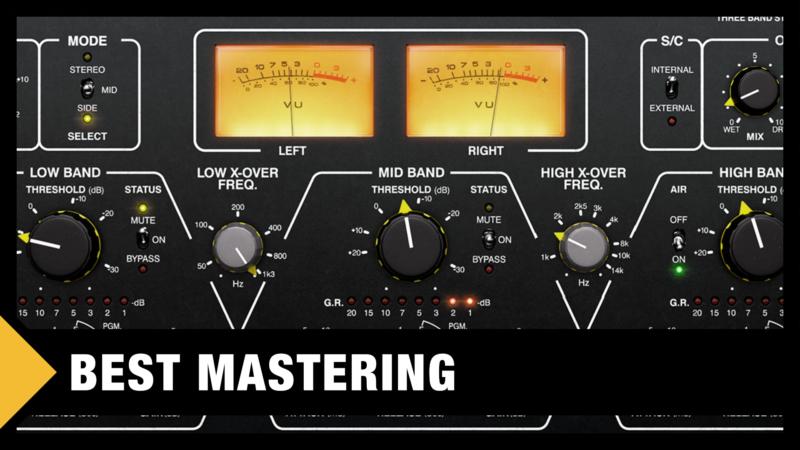 Best Mastering VST Plugins