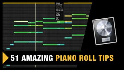 Logic Pro X Piano Roll Tutorial