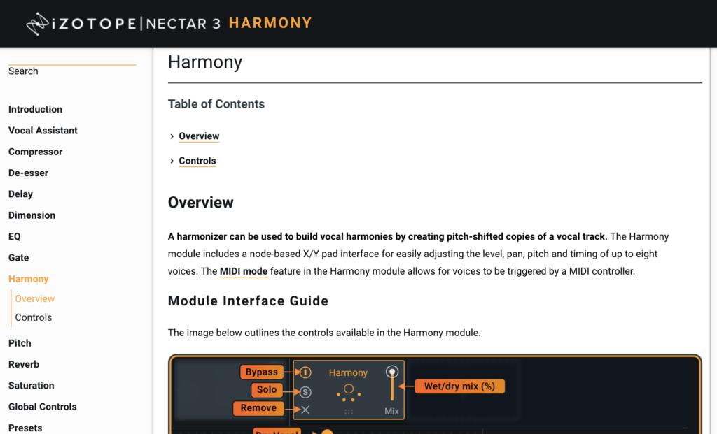 Nectar 3 - Online Manual
