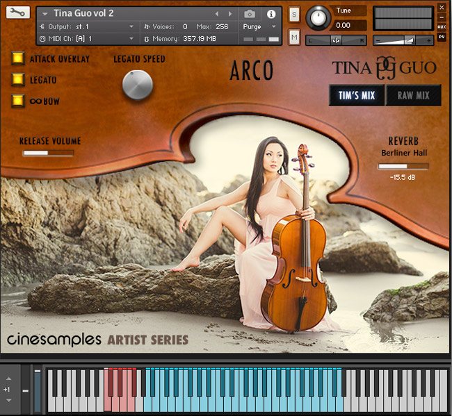 Cinesamples Sample Library - Tina Guo