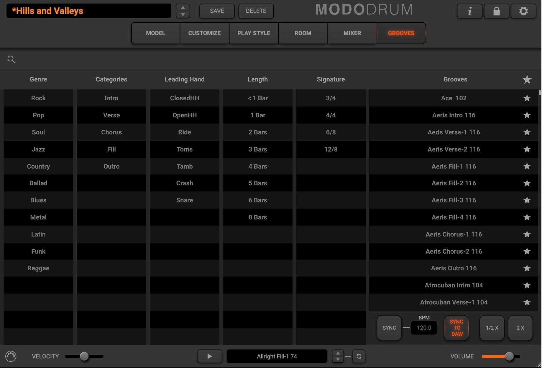 MODO Drum - Grooves