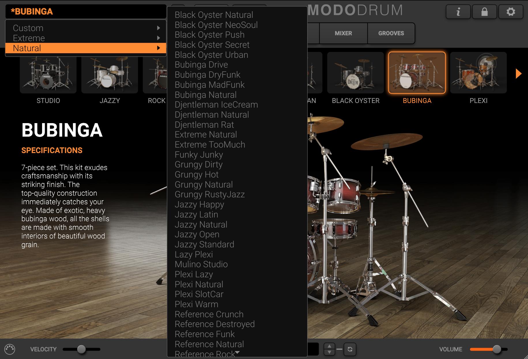 MODO Drum - Presets