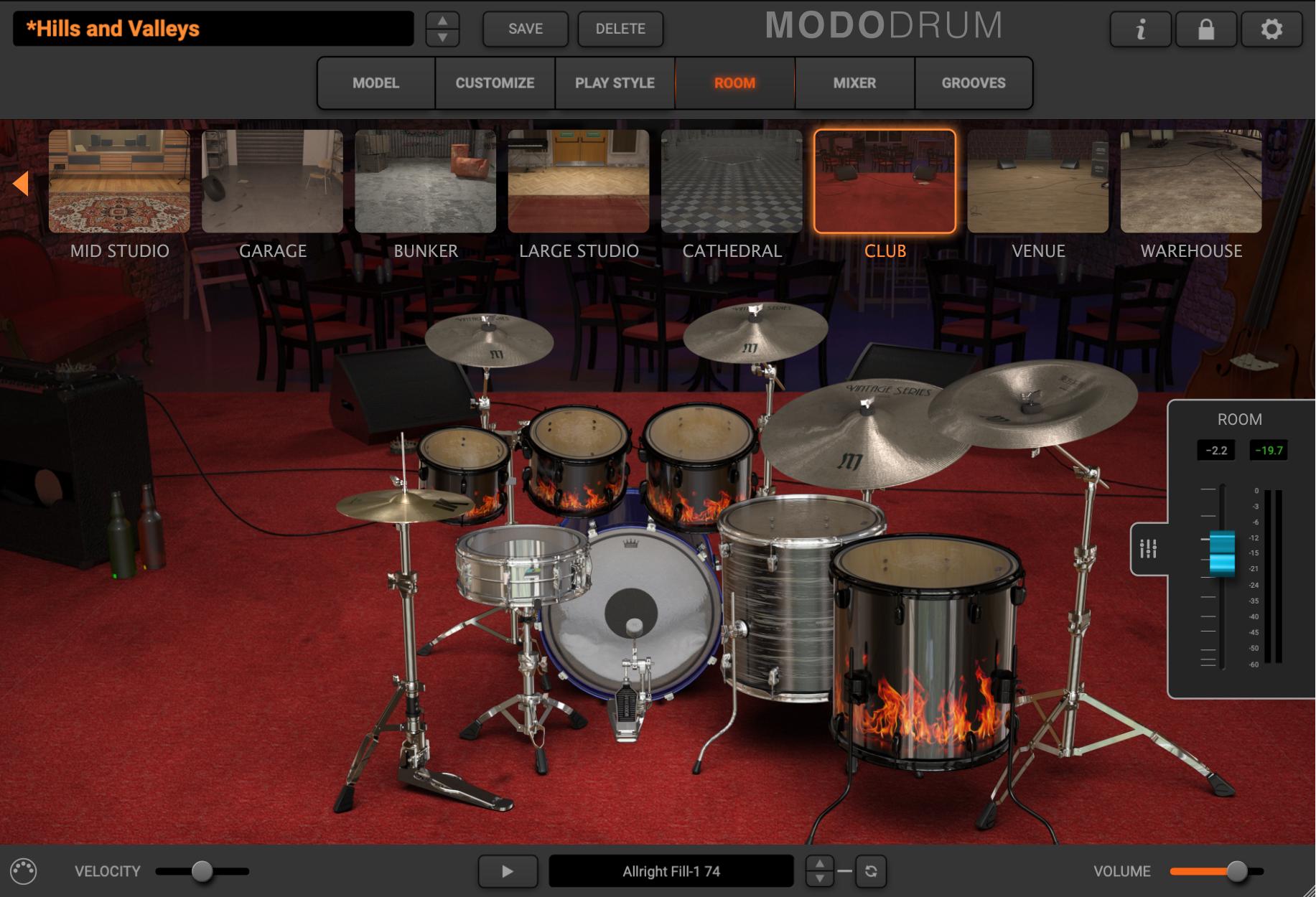 MODO Drum - Room Sound