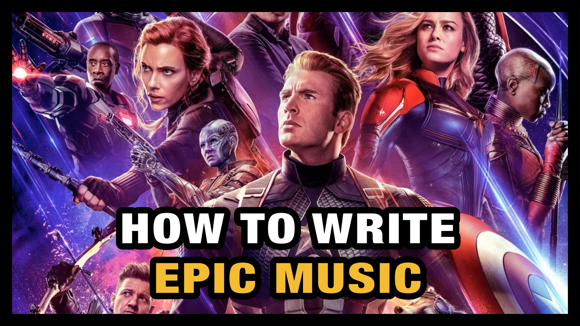 How to write Epic Music