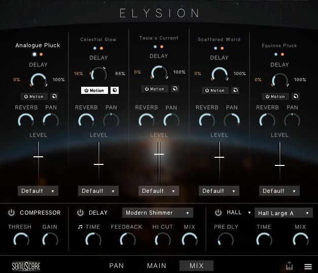 Elysion - Mixer