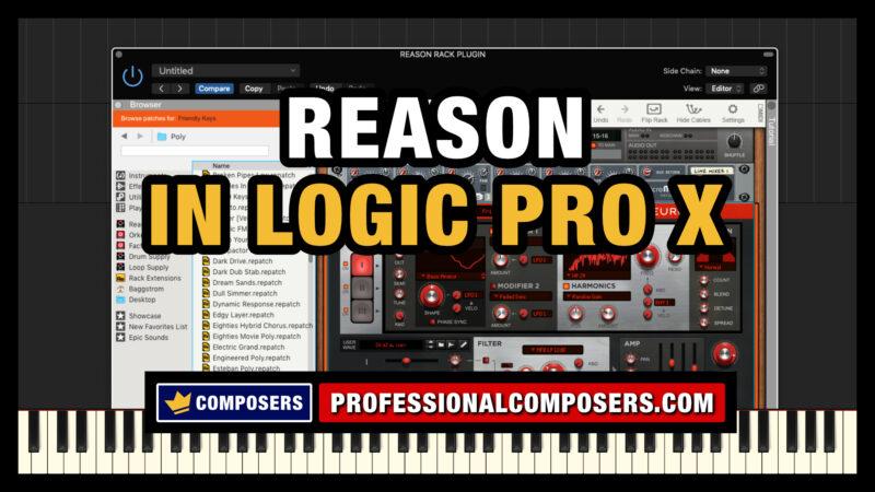 Reason Rack Plugin in Logic Pro X