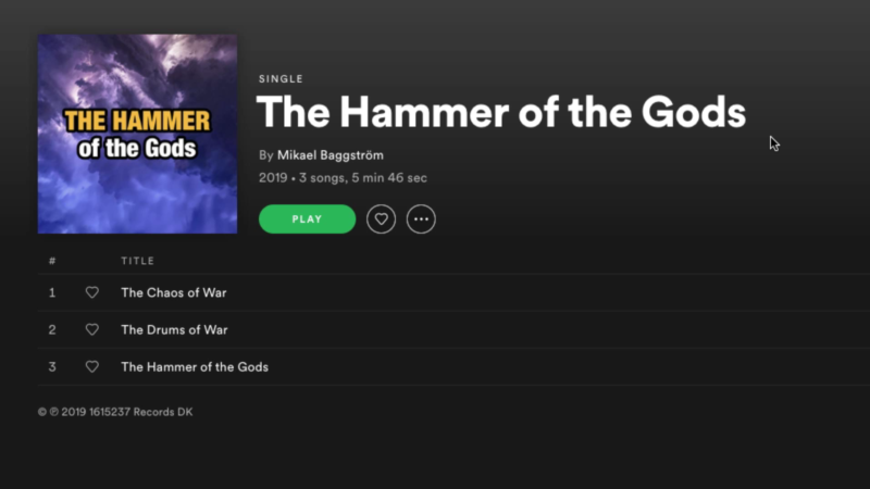 Album on Spotify