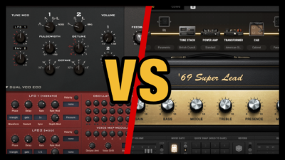 Guitar Amp vs Non Guitar Sounds (Bias Amp Pro)