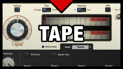Tape Saturation VST Plugin (Satin)