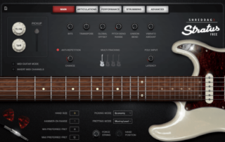 Free Electric Guitar VST Sample Library
