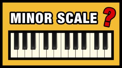 Piano Minor Scales