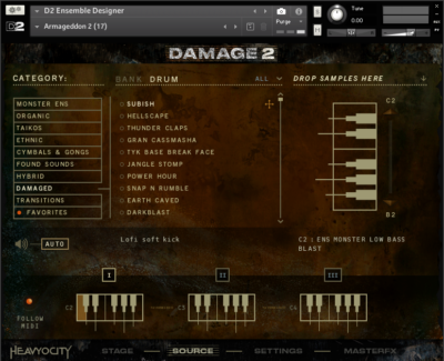 Damage 2 - Epic Orchestral Percussion