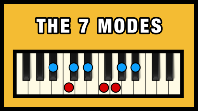The 7 Modes on Piano (Free Chart)