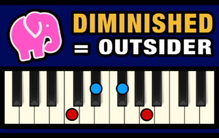 Diminished Chords - The Outsiders