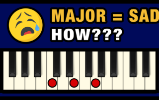 How to Make the Major Scale Sad