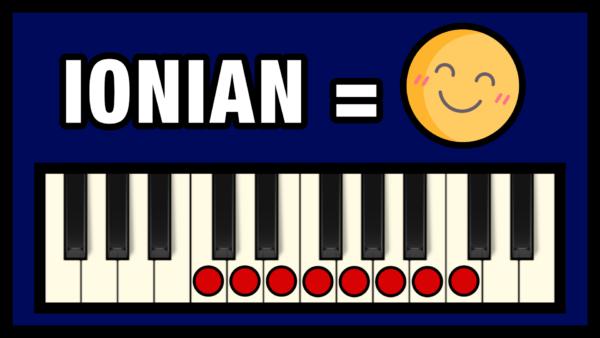 Ionian Mode - The Uplifting Mode