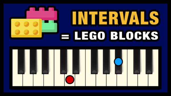 Music Intervals are like Building Blocks