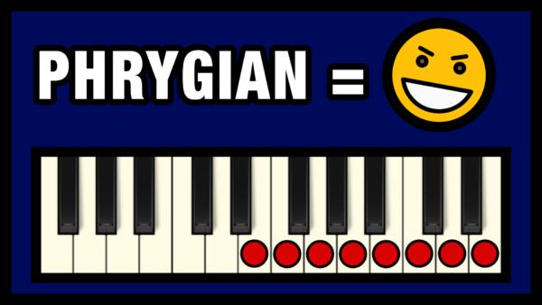 Phrygian Mode - The Dark Mode