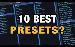 10 Best Presets in Omnisphere